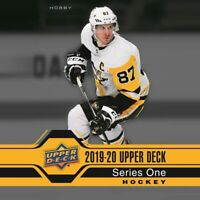2019-20 UPPER DECK SERIES 1 & 2 HOBBY BOX BREAK # 60 -  SELECT A TEAM