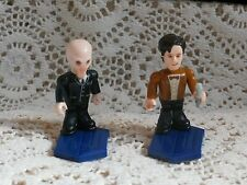 Dr Who Character Building Micro Figure Lot of 2 Silent and Eleventh Doctor Mini