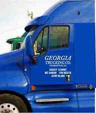 Semi Truck Commercial Truck Lettering Free Shipping
