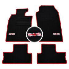 Mini One//Cooper Mk1 2001-2006 Velcro Pads Tailored car /& Tapis de coffre noir