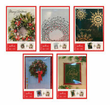 HALLMARK  40 count boxes  Christmas Cards  multicolored  Paper  12.80 in. 16 pk