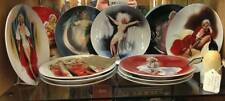 marilyn monroe 12 x complete set of limited edition plates of 150 days firing