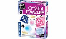 Crystal Jewelry Kit Brand New par Geek & Co Science Âges 8+ tout savoir sur la chimie