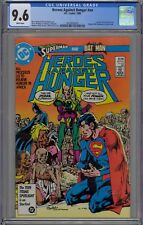 Heroes Against Hunger #nn CGC 9.6 NM+ Wp DC 1986 Famine Relief Benefit Issue