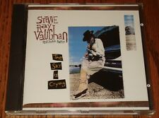 STEVIE RAY VAUGHN AND DOUBLE TROUBLE THE SKY IS CRYING ORIGINAL CD 1991