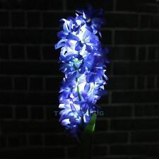 Solar Gartenstecker Solarlampe Gartenlampe Deko Beleuchtung Kunstblumen