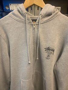 stussy hoodie large