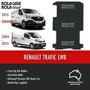 Renault Trafic LWB Genuine Big Rib Rubber Cargo Van Flooring 5mm Computer Cut