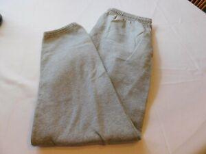 Fruit of the Loom Sweat Pants Lounge Pant pants Grey Heather Size L GUC