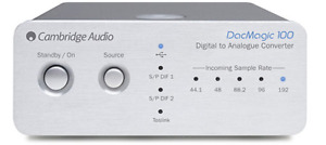 Cambridge Audio DacMagic 100 Digital to Analog Converter (Silver)