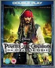 PIRATES OF THE CARIBBEAN:ON STRANGER TIDES*BLURAY + DVD