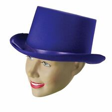 adulte # MONSIEUR LOYAL satin violet chapeau Haut-de-forme CIRQUE déguisement