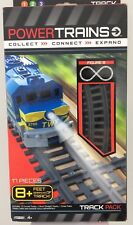 Power Train Track Pack Figure 8 set  - 17 pieces 8 foot of Track
