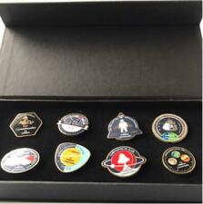 OMEGA Speedmaster 50th Anniversary Pin Badge From japan FedEx