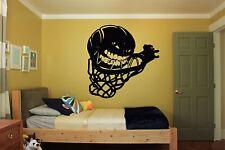 Wall Room Decor Art Vinyl Sticker Mural Decal Basketball Street Sport Fan FI396