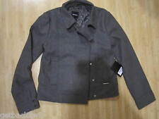 NEW Nixon Ladies S JACKET COAT HOODY TOP SHIRT Peacoat Grey