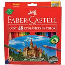 48 PASTELLI MATITE COLORATE FABER CASTELL ECO TEMPERALAPIS IN OMAGGIO 111248