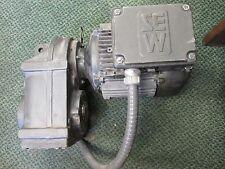 Sew Eurodrive AC Motor w/ Gear Reducer FA47GDT90L6 1-1/2HP Used