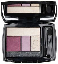 New In Box Lancome Color Design 5 Shadow & Liner Palette Mauve Cherie Full Size