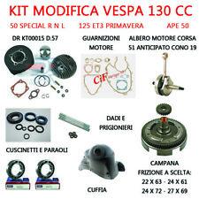 Kit Completo Modifica DR 130 cc Vespa 50 Special R N L 125 ET3 Primavera APE 50