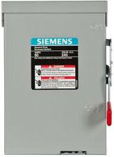 Double-Pole Outdoor Non-Fusible Safety Switch Siemens General Duty 60-Amp