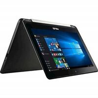 "Asus Vivobook Flip 11.6"" Laptop Intel Celeron N3350 4GB 64GB Win10 - Black"