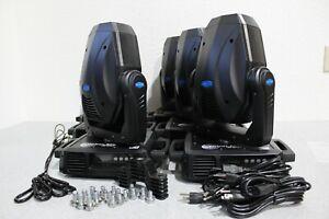 LOT OF 6 Techni-LUX VectorLED 160 Spot Moving Light Fixtures Please Read Desc.
