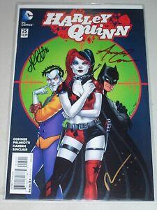 Harley Quinn #25! (2014) Signed by Conner, Palmiotti & Hardin! NM! COA!