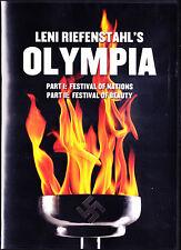 Olympia - Leni Riefenstahl, Jesse Owens (DVD,2013) 1936 Berlin Germany Olympics