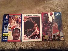Dominique Wilkens 50 Card Basketball Lot