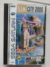 Sim City 2000 - SEGA Saturn - CIB - NTSC US