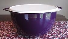 Tupperware MEGA NEW  Thatsa Bowl  10 L 42  cups PURPLE ROYAL AMETHYST