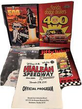 Vintage Nascar Souvenir Program Lot 1996 1997 Earnhardt Miami Homestead Bristol