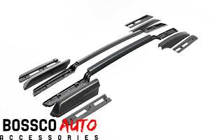 Black Roof Rails Suitable For Holden Colorado LS LS-XLT LTZ LT-R RG 2012-2020
