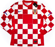 Croatia *RARE* Euro'12 PLAYER ISSUE L/sleeved (XL)Home Jersey *BRAND NEW W/TAGS*