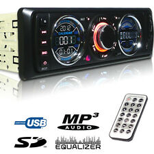 In Dash SD USB MP3 Car iPhone aux detachable face stereo radio audio player 3892