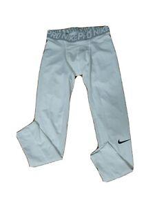 """Nike Dri fit Pro Men MEDIUM ATHLETIC LEGGINGS INSEAM 24.5"""" Elastic waist band(m2"""