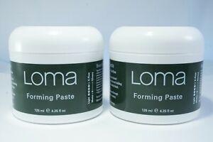 Set of 2 LOMA Forming Paste 3 fl oz Organic *NEW*