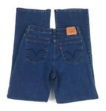 Levi's 512 Perfectly Slimming Mid Rise Bootcut Stretch Blue Jeans Women's 10M