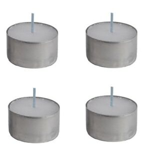 8 Hour Burn Tealight Tea Light Candles Long Burn Night Lights 20,50,75 or 100