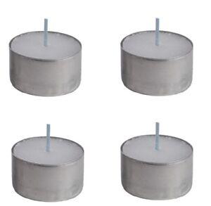 8 Hour Burn Tealight Tea Light Candles Long Burn Night Lights 20,50,75 or 100