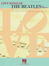 Love Songs of the Beatles 2nd Edition Sheet Music Piano Vocal Guitar 000356224