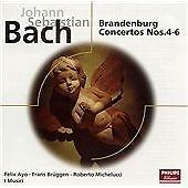 Bach: Brandenburg Concertos Nos 4-6, , Very Good Original recording remastered