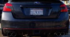 New SHIFTEvo 2015 WRX STI Rear Bumper Red Pinstripe JDM 2016 Pin Stripe Diffuser
