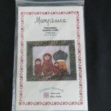 Mampeshka Matrioshka Russian Dolls Quilted Wall Hanging Pattern Matryoshka