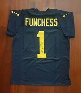 Devin Funchess Autographed Signed Jersey Michigan Wolverines  JSA