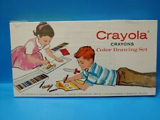 A Collectors Dream Vtg Nib Sealed 1965 Crayola Crayons 72 Box Set Extremely Rare