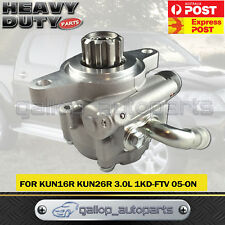 New Power Steering Pump fit Toyota Hilux KUN16 KUN26 3.0L Turbo Diesel 2005-ON