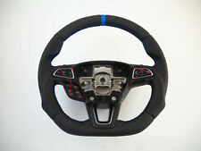 FORD Focus III 3 mk3 lift Flat bottom INCLUDE Steering wheel Thumbs Lenkrad
