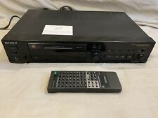 —Won'T Read Discs— Sony Mds-302 Home MiniDisc Recorder Full Size Deck Player